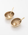 Golden Egg Salt + Pepper Cellar Set