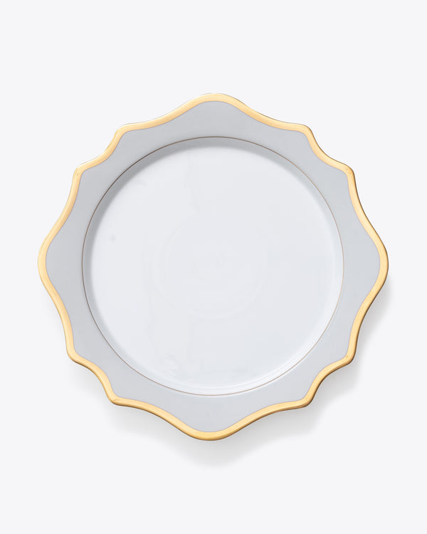 Anna's Palette Charger Plate | Rent | Grey