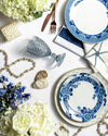 Blue Ming Dinner Plate | Rent