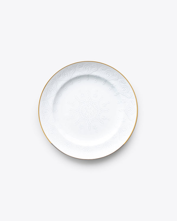 Lace Salad + Dessert Plate | Rent