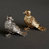 Gold Bird Napkin Ring, Set of Four
