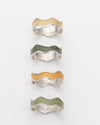 Ombre Napkin Ring Set 4pc | Green