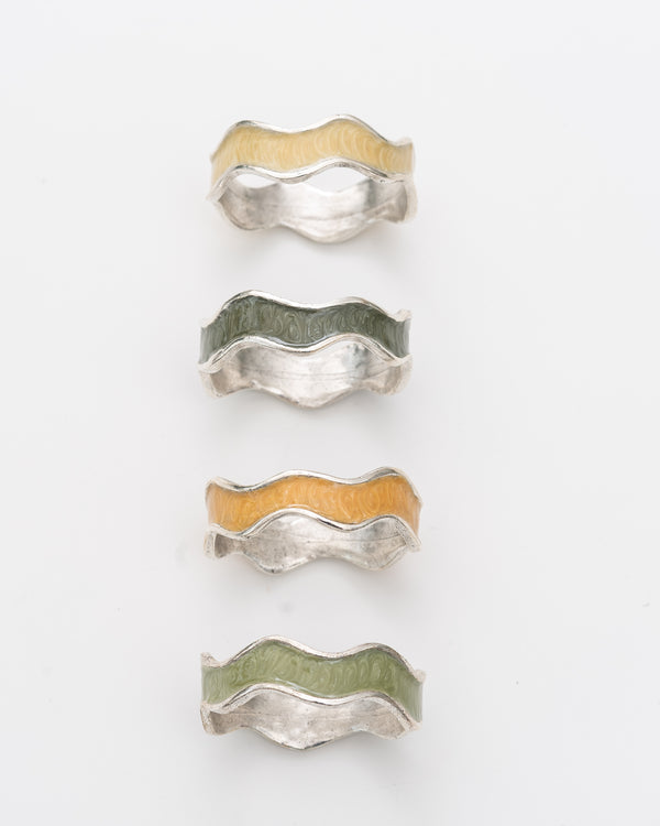 Ombre Napkin Ring | Rent | Green