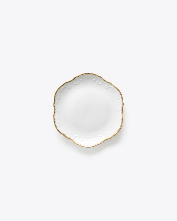 Ramsey Bread + Butter Plate | Rent | Gold