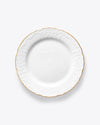 Ramsey Dinner Plate | Rent | Gold