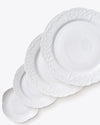 Ramsey Bread + Butter Plate | White