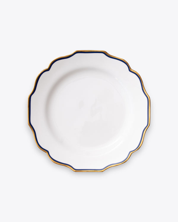 Scallop Dinner Plate | Navy