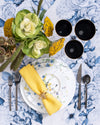 Spring Bread + Butter Plate | Blue
