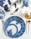 Blue Ming Bread + Butter Plate | Rent