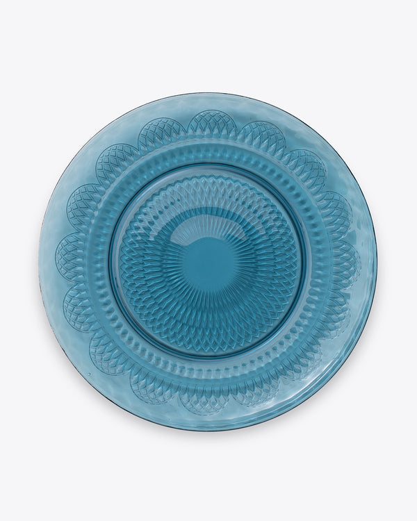 Shell Charger Plate | Sapphire