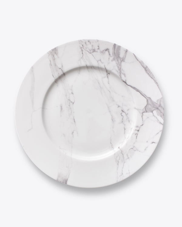 Soft Marble Charger Plate