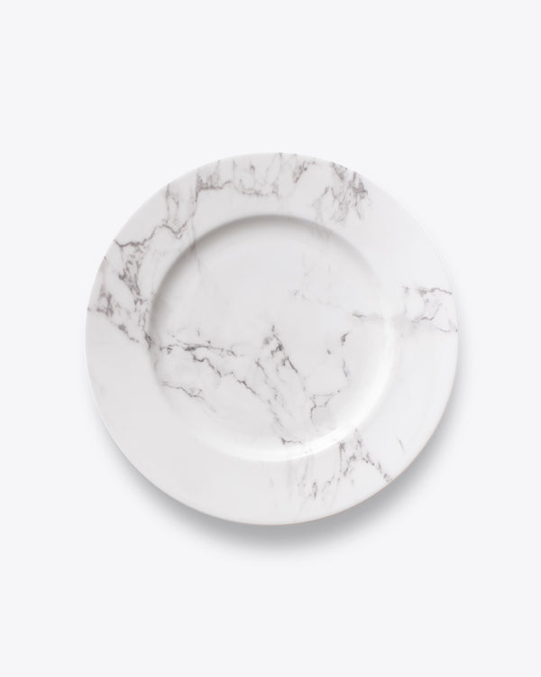 Soft Marble Dinner Plate | Rent