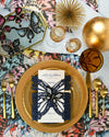 Edgy Dinner Plate | Rent | Gold