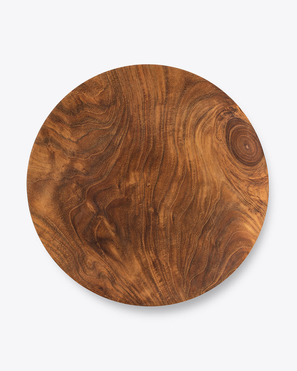 Teak Wood Charger Plate | Rent