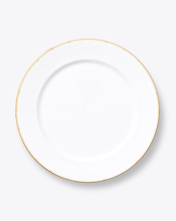 The Downton Charger Plate | Rent | Gold