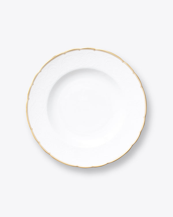 The Downton Dinner Plate | Gold