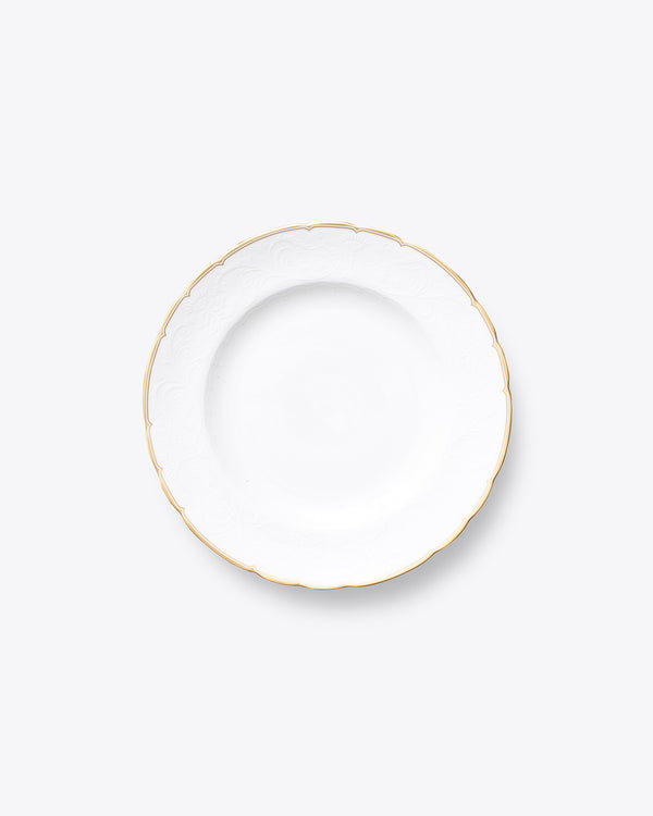 The Downton Salad + Dessert Plate | Rent | Gold
