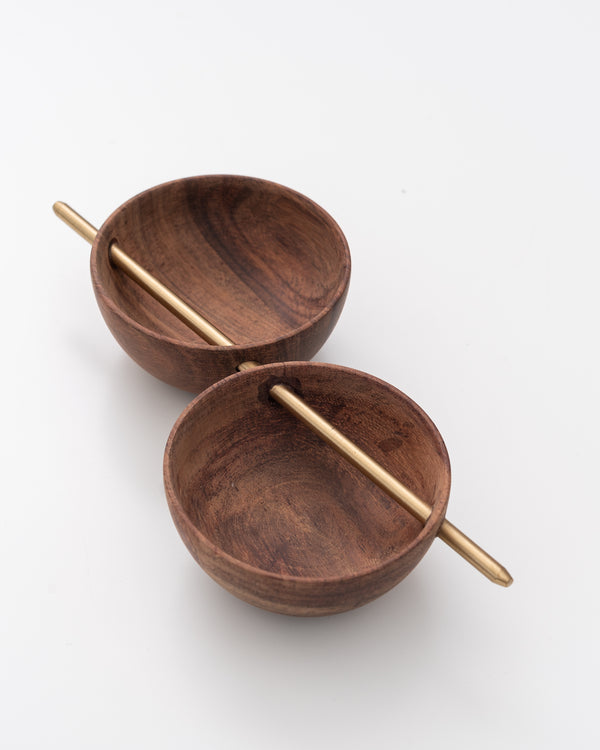 Wood Bowl Set | Rent
