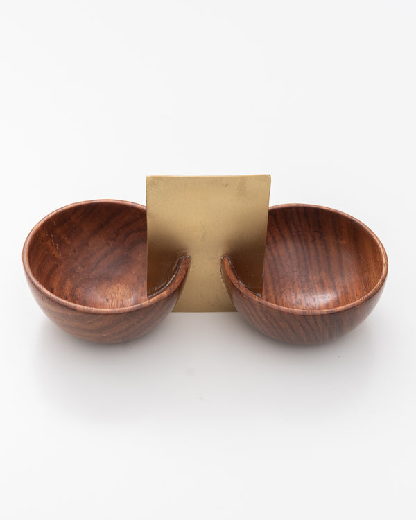 Wood Salt + Pepper Set | Rent