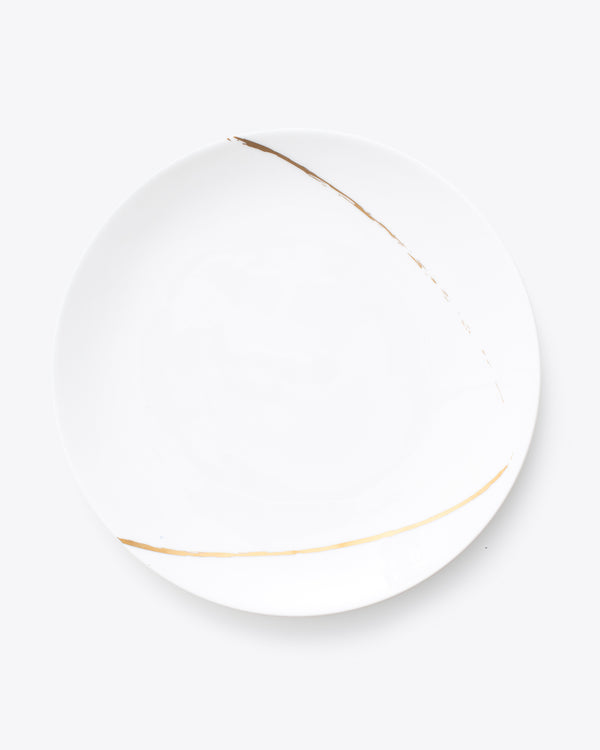 Eclipse Charger Plate | Rent | White