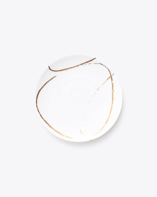Eclipse Salad + Dessert Plate | Rent | White