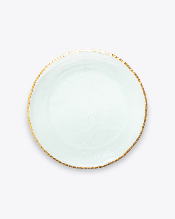 Edgy Dinner Plate | Gold