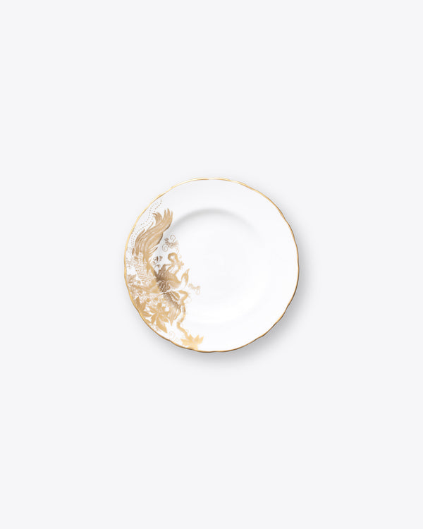 Gold Migration Bread+Butter Plate | Rent