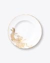 Gold Migration Dinner Plate | Rent