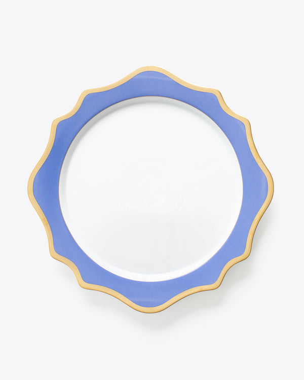 Anna's Palette Charger Plate | Indigo