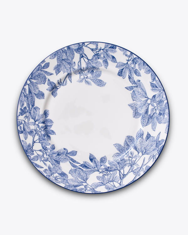 Ivy Charger Plate | Rent | Blue