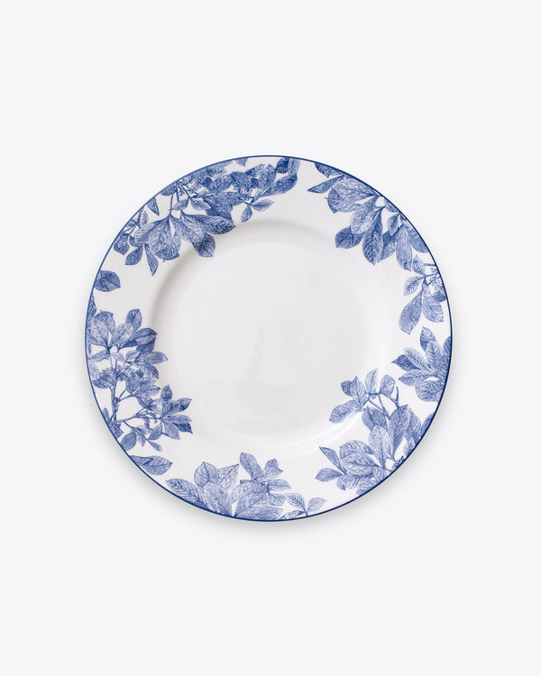 Ivy Dinner Plate | Rent | Blue
