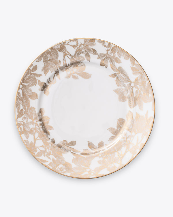 Ivy Charger Plate | Gold