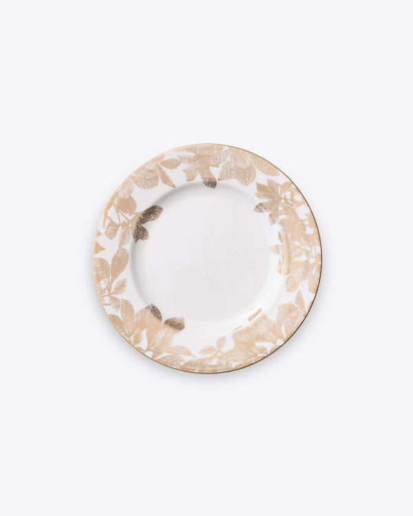 Ivy Salad + Dessert Plate | Rent | Gold