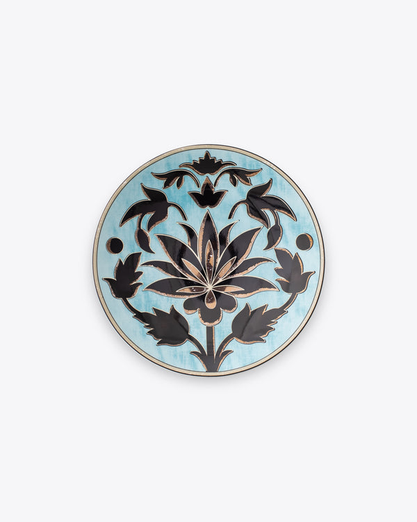 Lotus Salad + Dessert Plate | Rent | Aqua Black