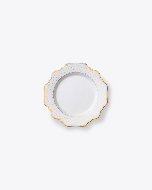 Point D'Esprit Bread + Butter Plate | Rent