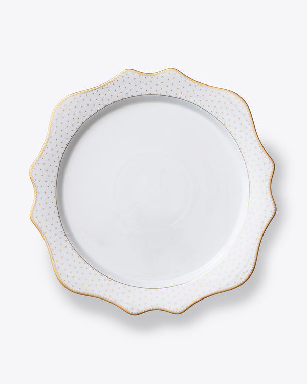 Point D'Esprit Charger Plate