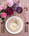 Peacock Bread + Butter Plate | Gold