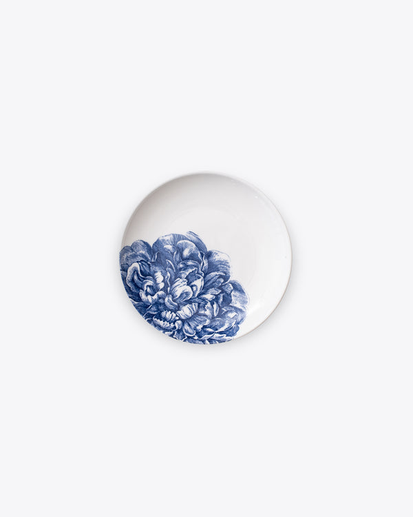 Peony Bread + Butter Plate | Rent | Blue