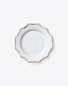 Anna's Antique Salad + Dessert Plate | Rent | Platinum