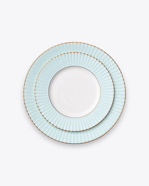 Pleated Set | Aqua