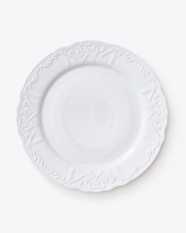 Ramsey Charger Plate | Rent | White