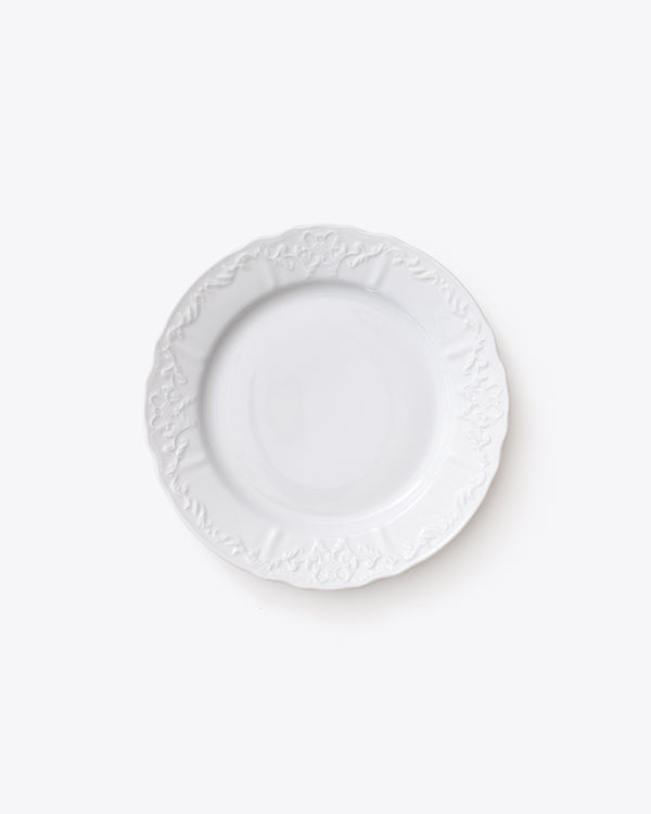 Ramsey Salad + Dessert Plate | Rent | White