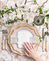 Anna's Palette Charger Plate | Dusty Rose