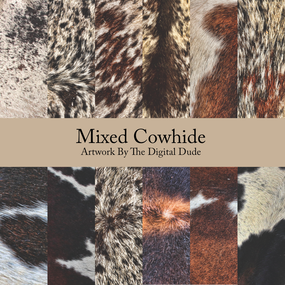 Mixed Cowhides