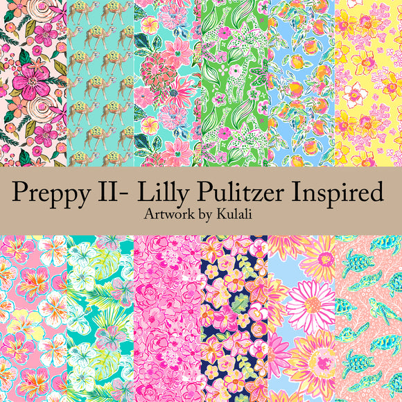Preppy II - Lilly Pulizter Inspired