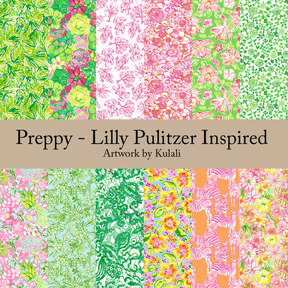 Preppy - Lilly Pulizter Inspired