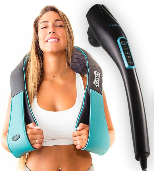 Handheld Massager & Shiatsu Neck Massager