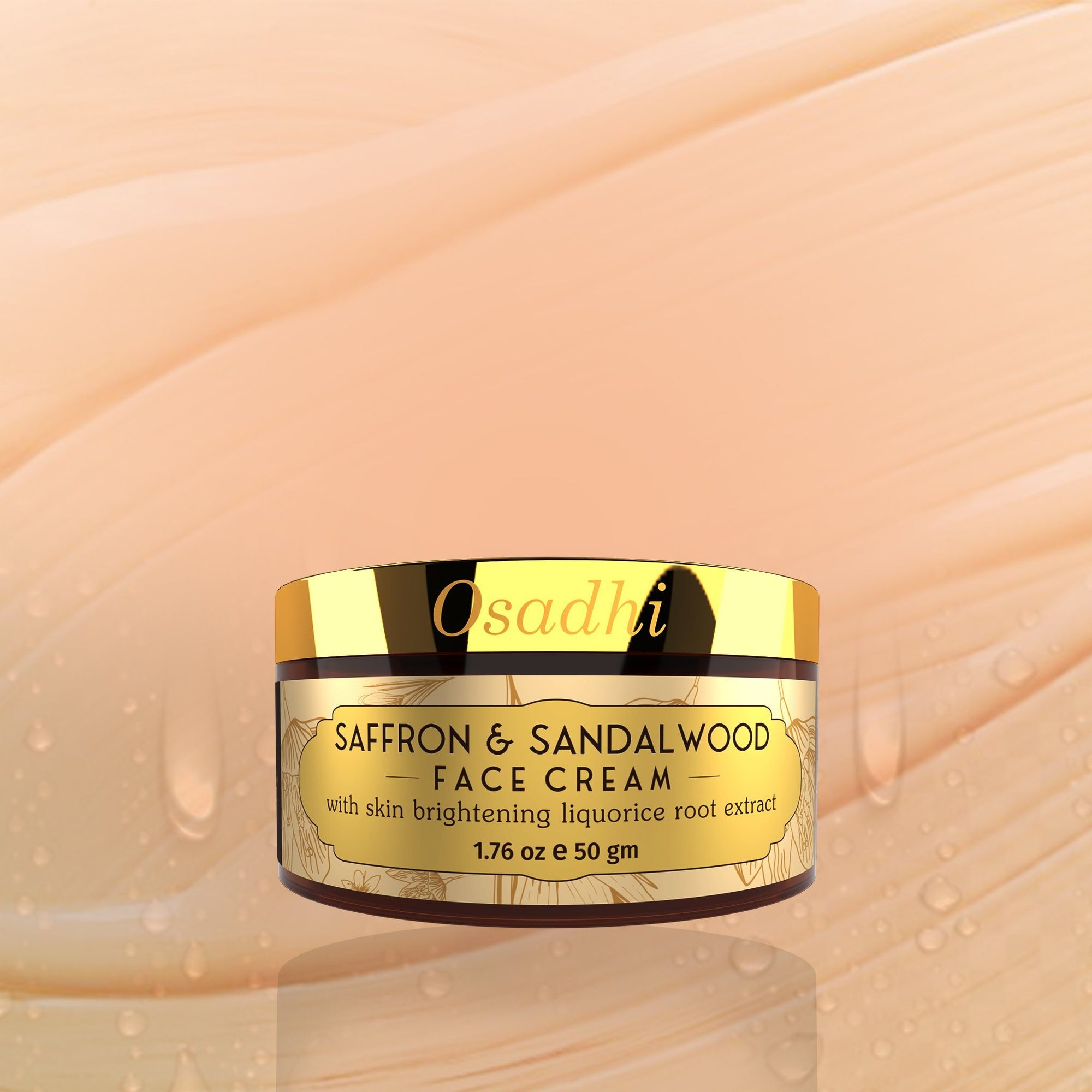 Saffron and Sandalwood Face Cream Osadhi
