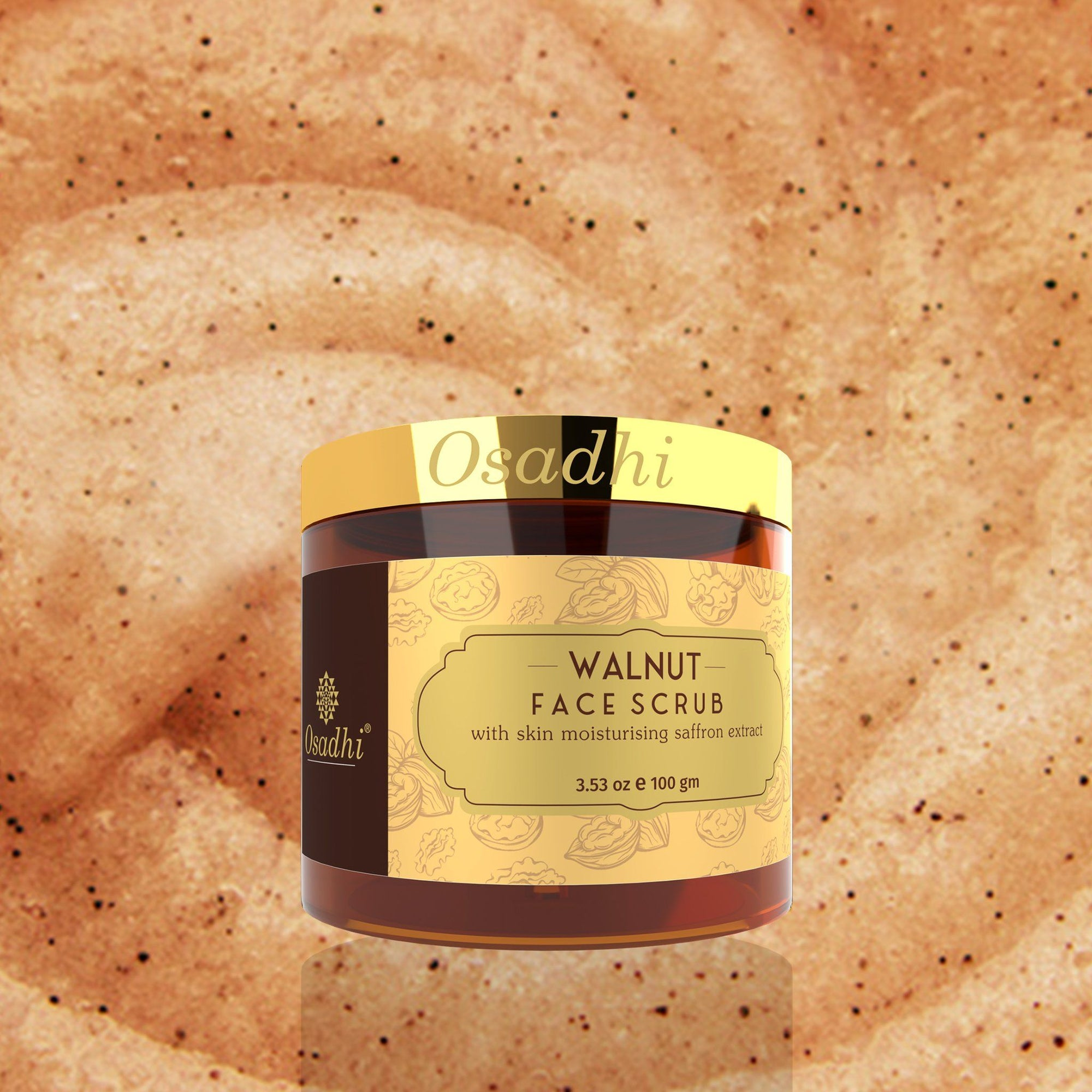 Walnut Face Scrub Osadhi