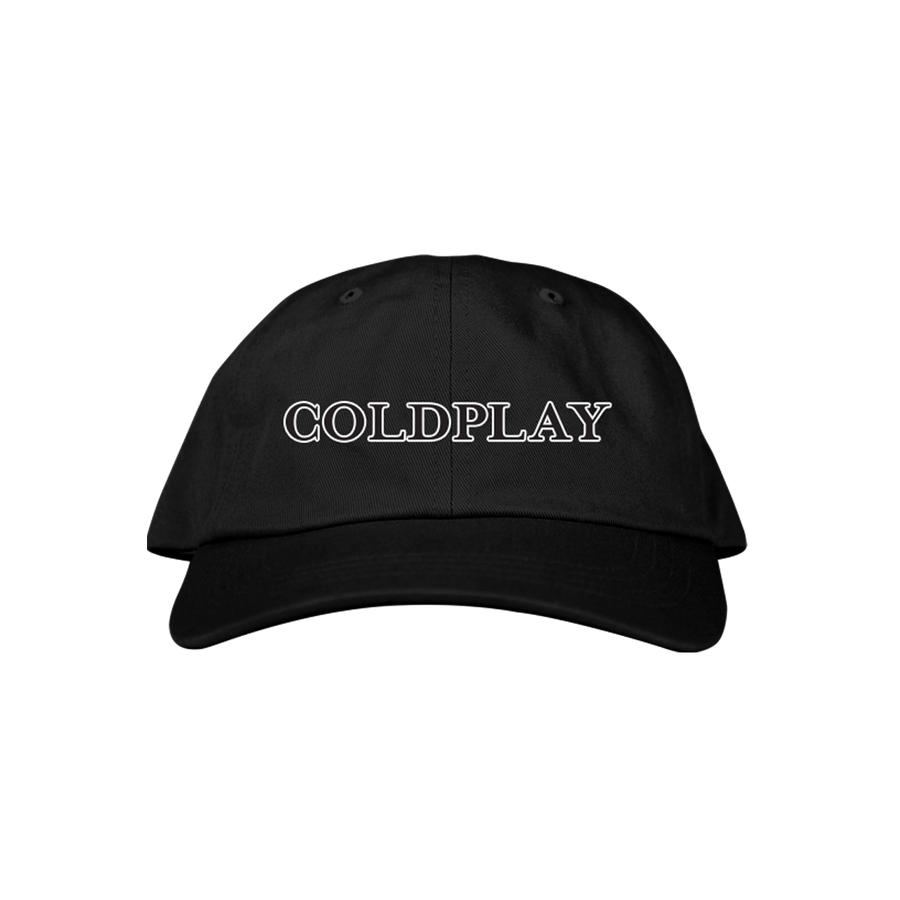 COLDPLAY LOGO CAP